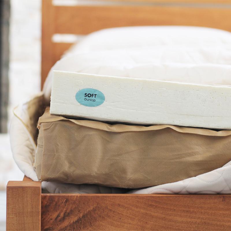 Hybrid mattress.