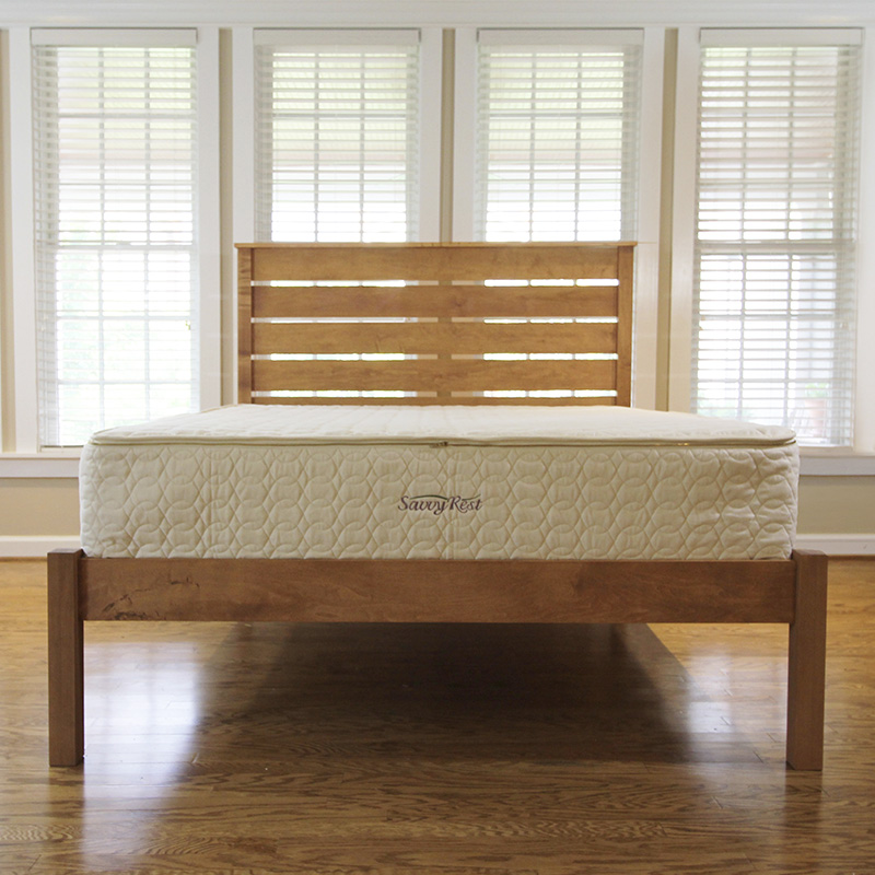 organic pocket-coil mattress