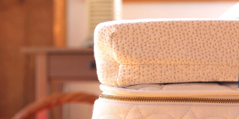Talalay latex mattress topper