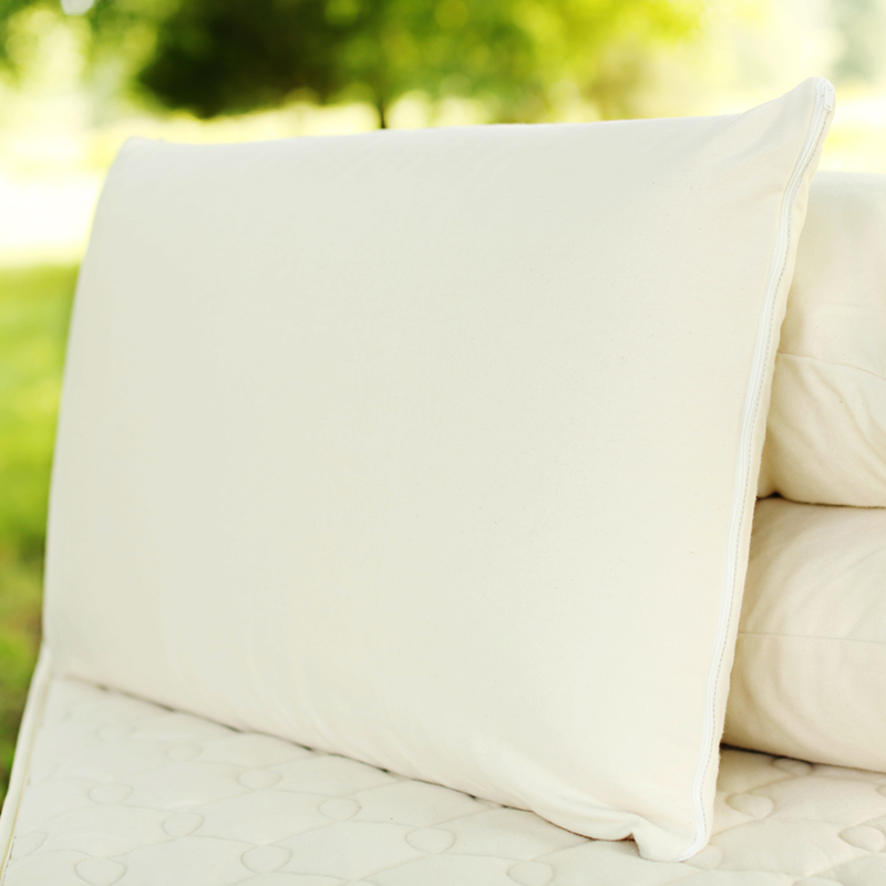 organic latex pillow firm