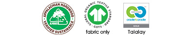 organic sofa certifications