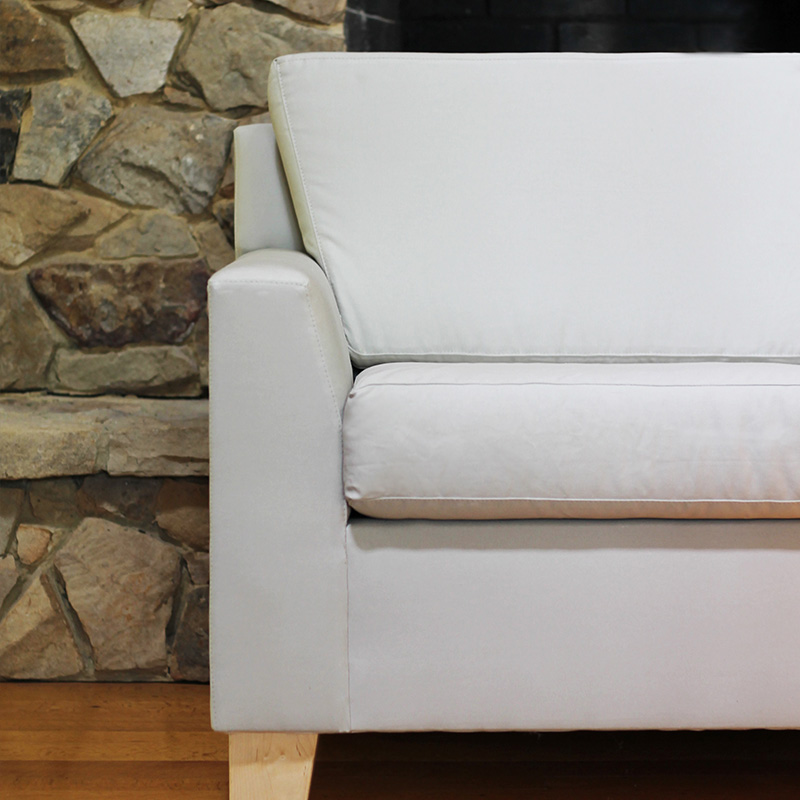 organic latex sofa from Savvy Rest