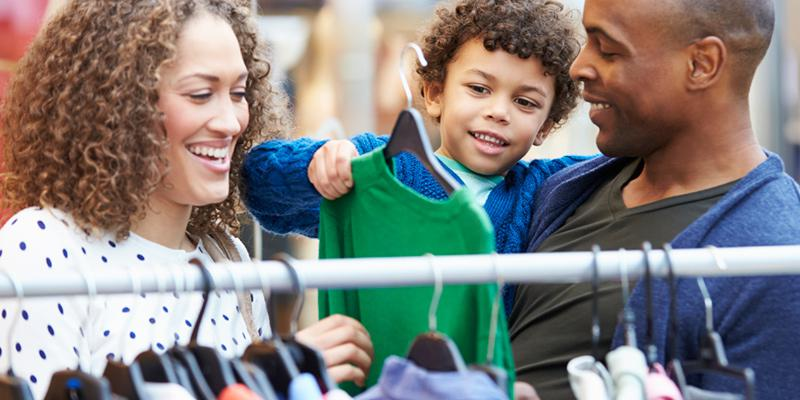 thrift shopping can help reduce waste