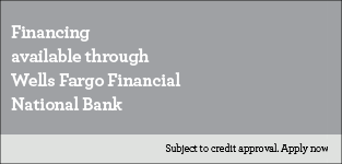 Financing offer from Wells Fargo.