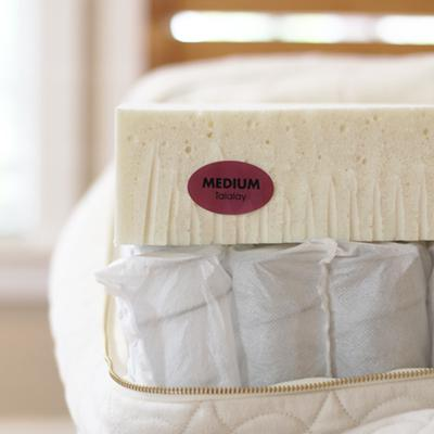 Zenspring pocketed-coil organic mattress from Savvy Rest