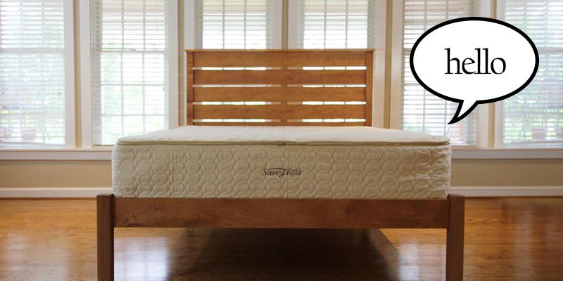 Savvy Rest new pocketed-coil mattress