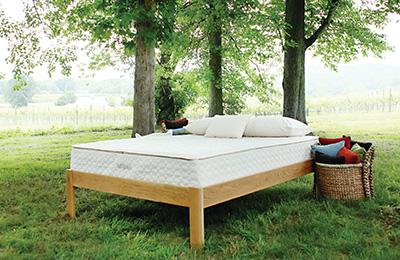 layered organic mattresses