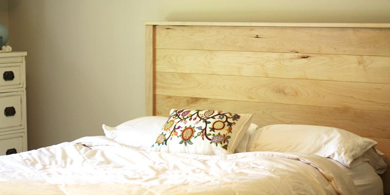 pamper yourself with organic bedding from Savvy Rest