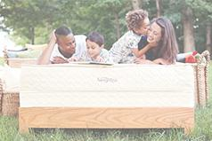 Savvy Rest organic mattresses are made with natural latex