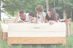 Serenity organic mattress from Savvy Rest