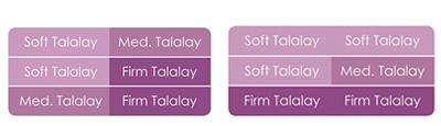 Savvy Rest Talalay mattress layering