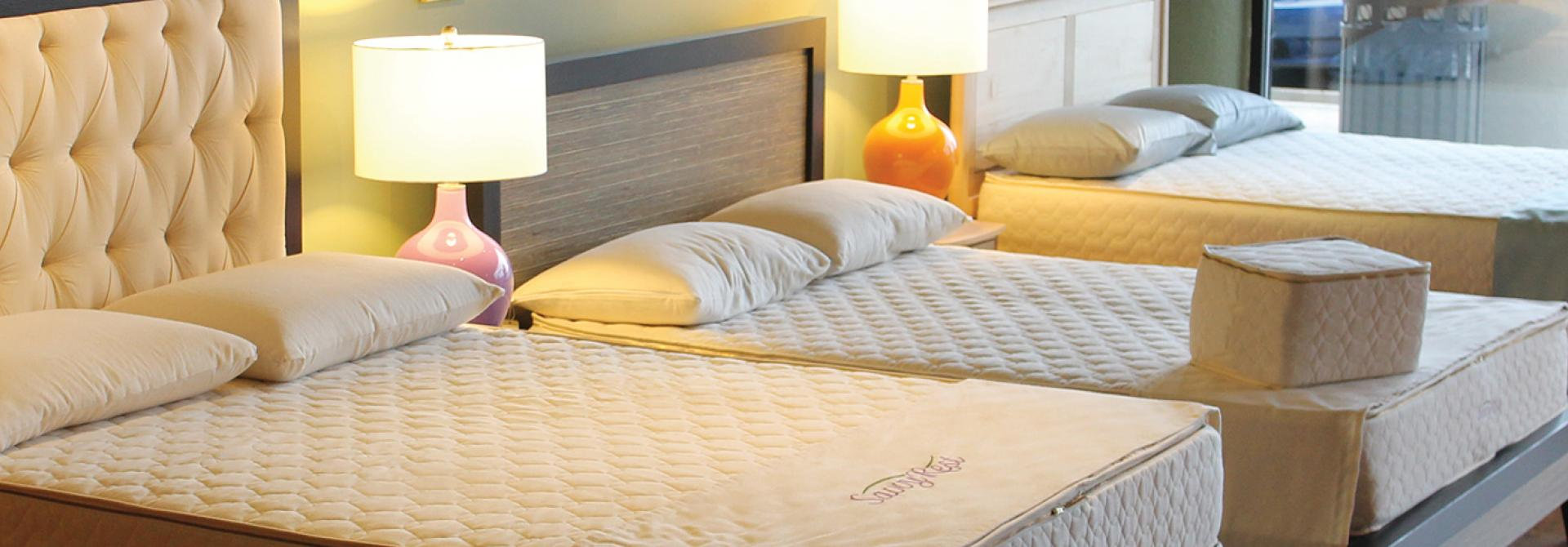 Organic mattresses in the DC metro area : Savvy Rest Natural Bedroom