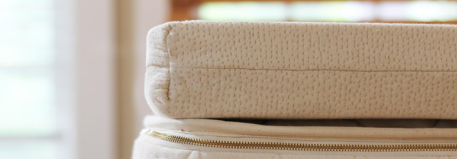 natural Talalay mattress topper from Savvy Rest