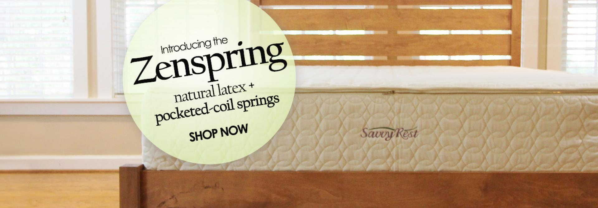 organic latex mattress with pocketed coils