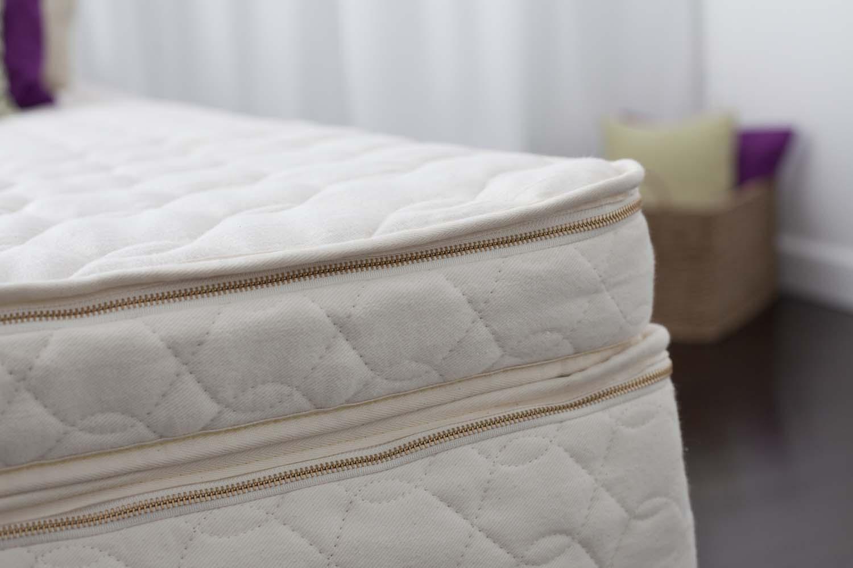 GreenGuard Gold certified organic mattress topper