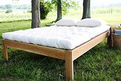 Pastoral organic wool mattress