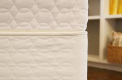 Natural Mattress foundation with a Savvy Rest Organic Mattress