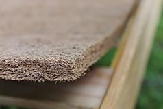 shredded coconut bed rug