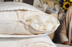 organic pillows from Savvy Rest