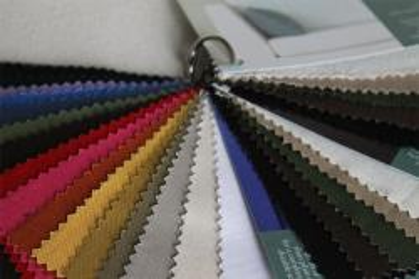 organic fabric samples