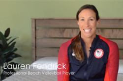 Lauren Fendrick, professional volleyball player
