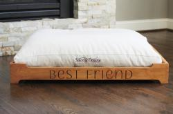 customizable platform bed for dogs