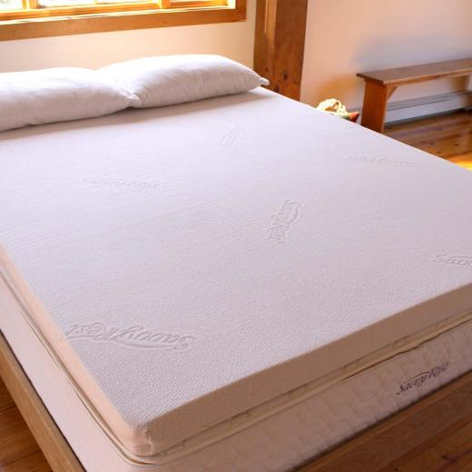 Natural Talalay Latex Mattress Topper Vitality Savvy Rest
