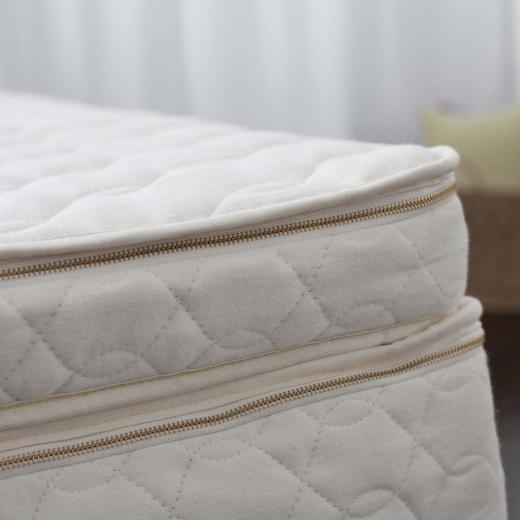 GreenGuard Gold certified organic mattress topper