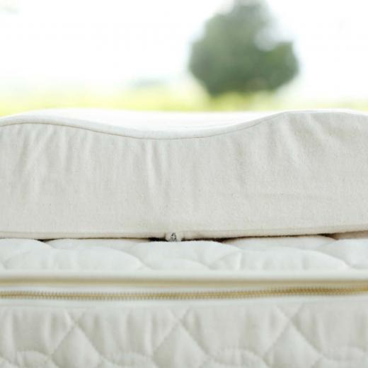 A contour pillow fits the curvature of your neck