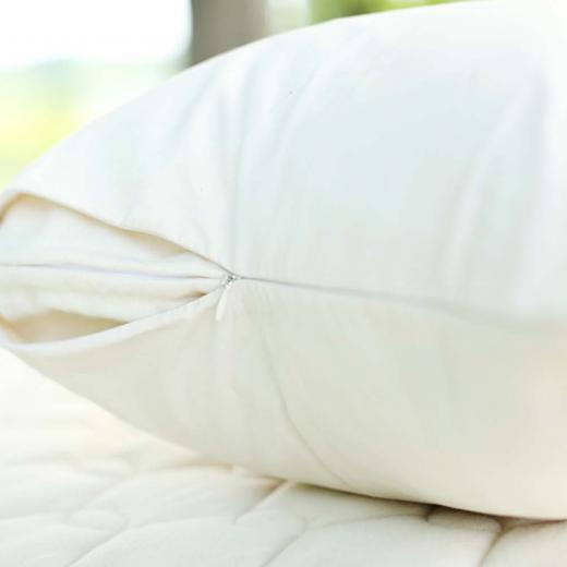 Organic pillow cover from Savvy Rest
