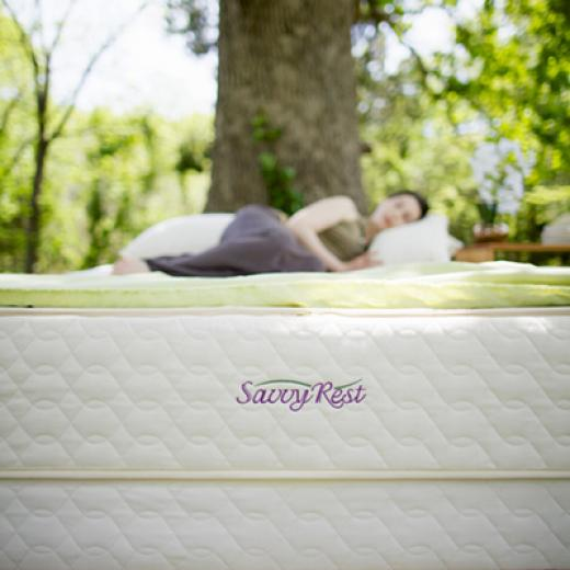 Savvy Rest organic mattresses in Berkeley