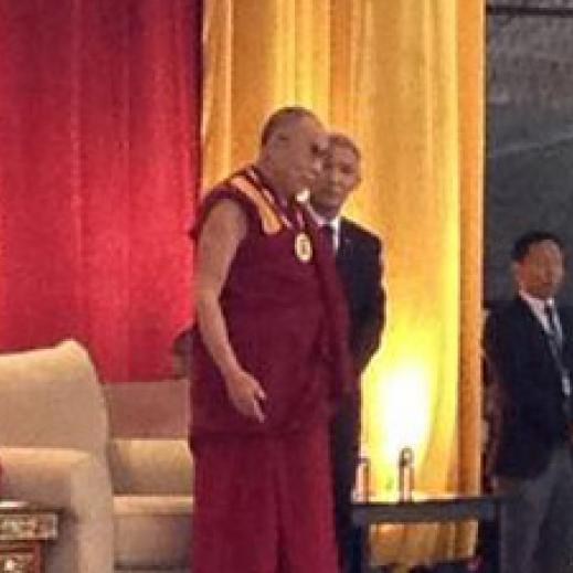 The Dalai Lama in Charlottesville, Virginia