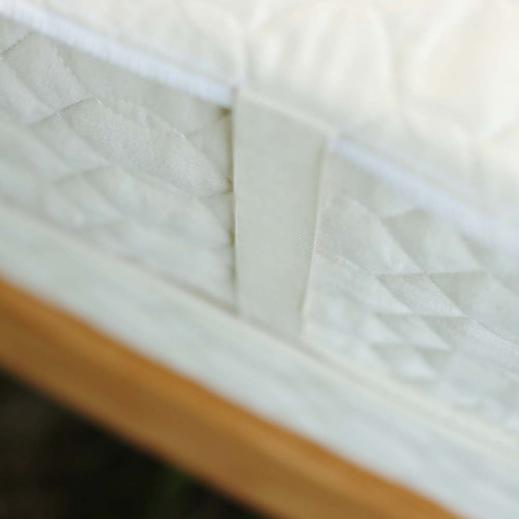 Organic Cotton mattress pad made with organic cotton