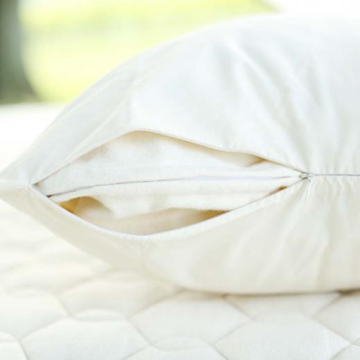 Organic Pillow cover made of organic cotton