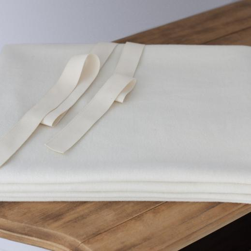 natural organic Wool mattress pad by Savvy Rest