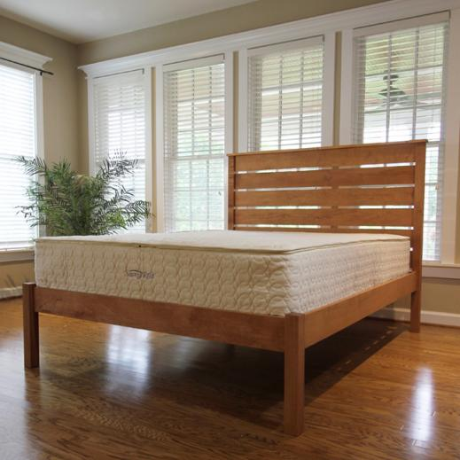 pocketed coil mattress with natural latex