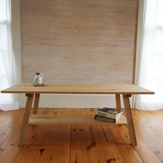 decorative maple bench