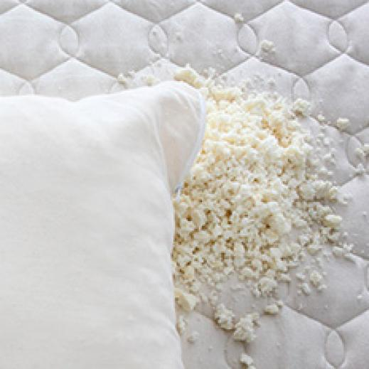 Customizable latex pillow from Savvy Rest
