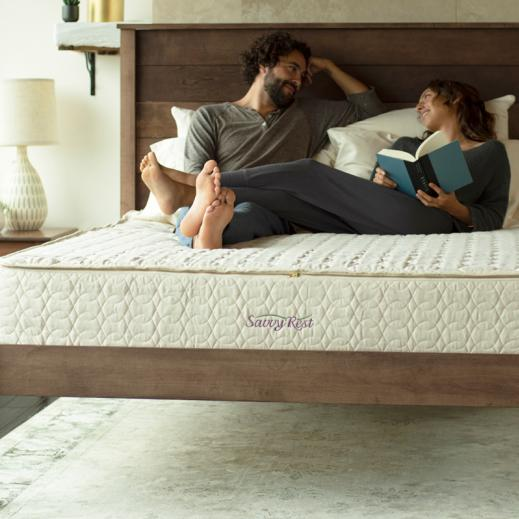 customizable natural platform bed