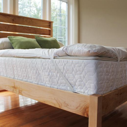 savvy rest natural wool mattress topper