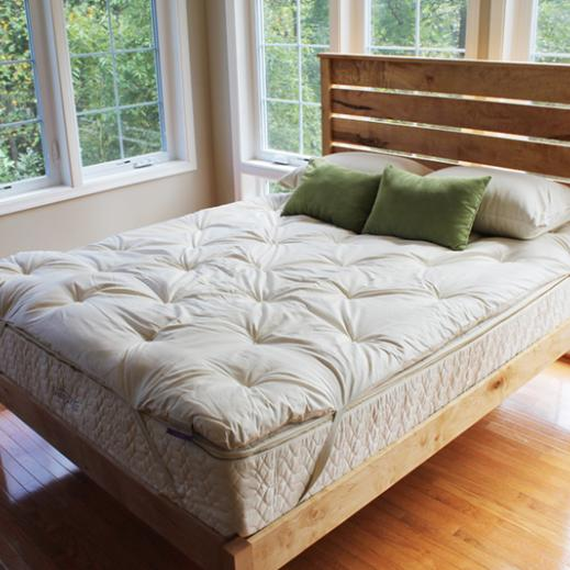 Savvy Rest wool mattress topper