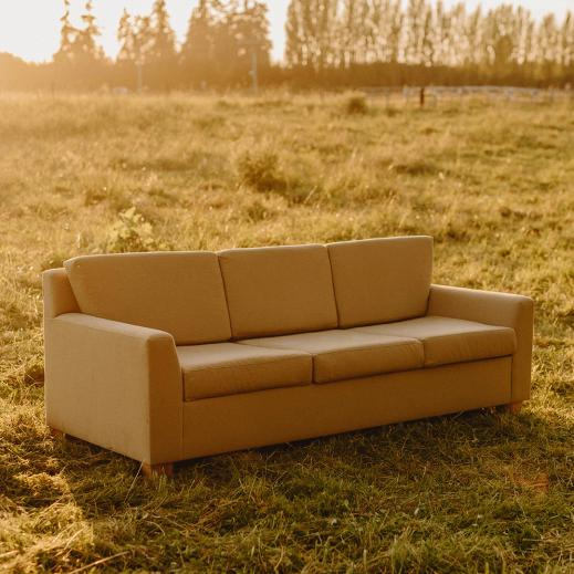 A natural sofa made just for you.