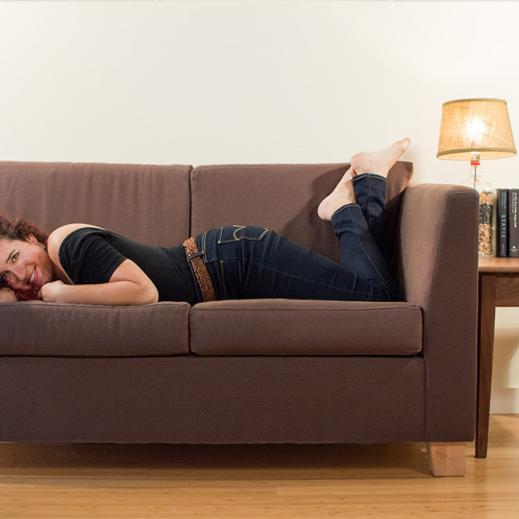 savvy rest organic loveseat