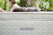 Organic mattress topper with natural latex from Savvy Rest