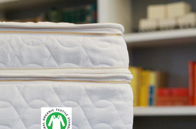 Natural organic latex mattress topper - the Harmony by Savvy Rest