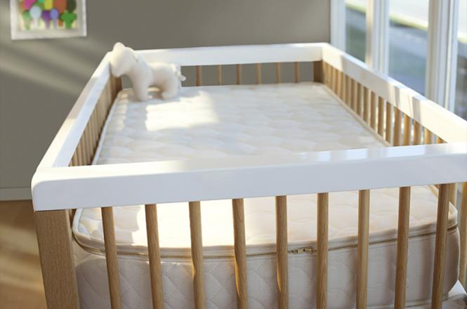 Healthy crib mattress - The Savvy Baby