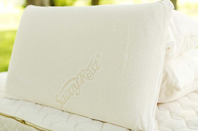 Natural Talalay pillow from Savvy Rest