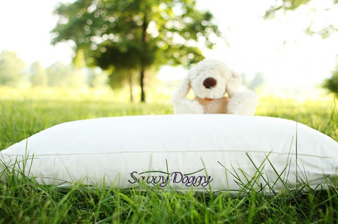 Savvy Doggy organic pet bed