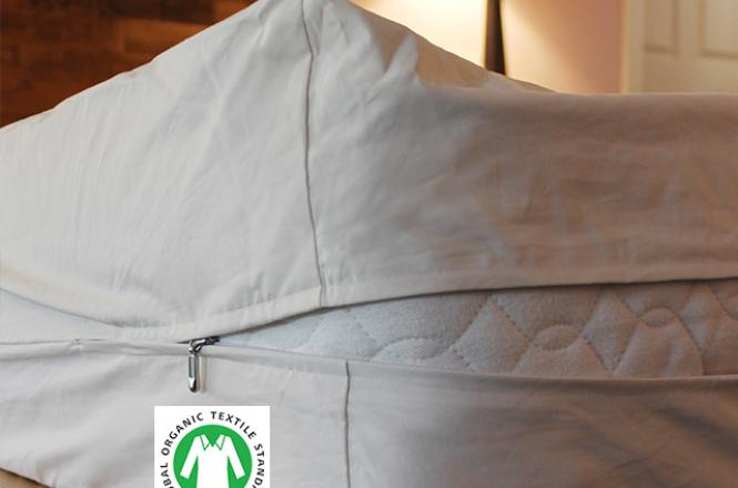 Organic Mattress encasement made with organic cotton