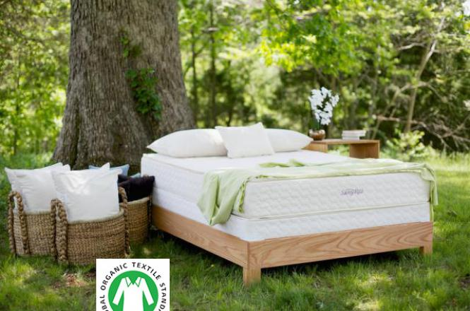 Serenity organic latex mattress from Savvy Rest
